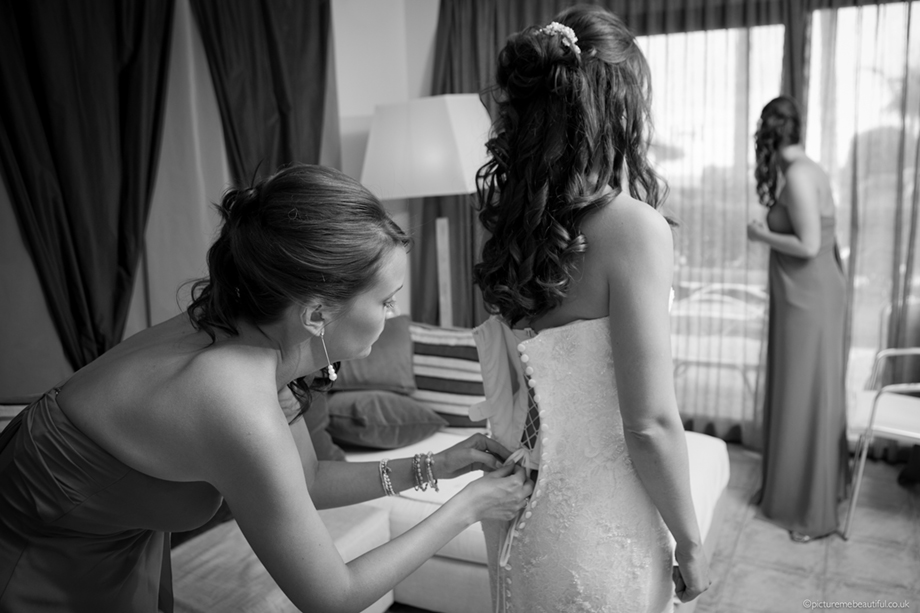 bridal preparations by picture me beautiful wedding photography UK