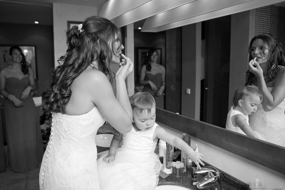 bridal reflections by picture me beautiful wedding photography UK