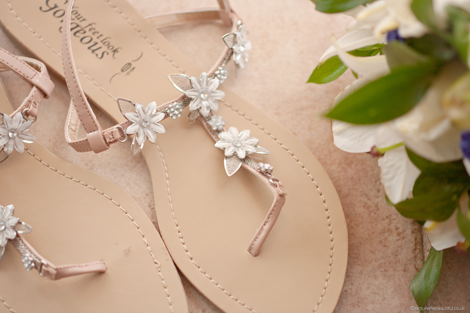 sandals by picture me beautiful wedding photography uk