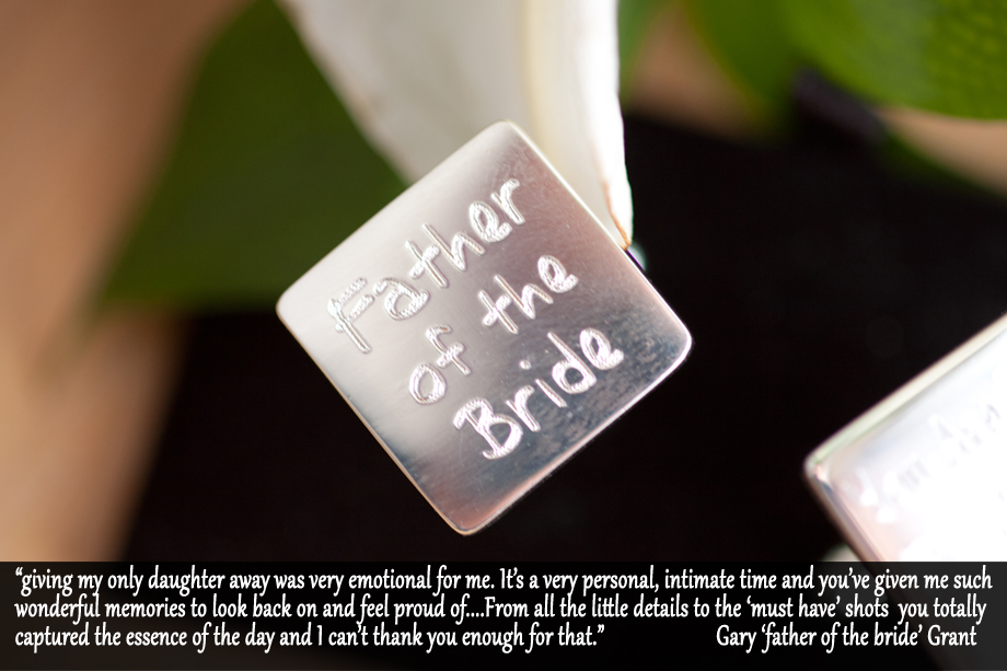 father of the bride love note for picture me beautiful uk