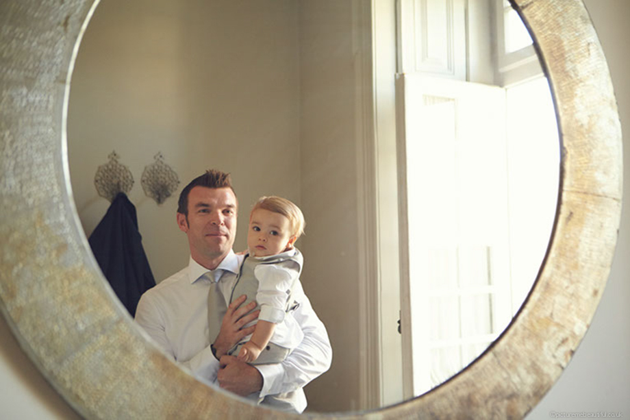 father and son by picture me beautiful wedding photography UK
