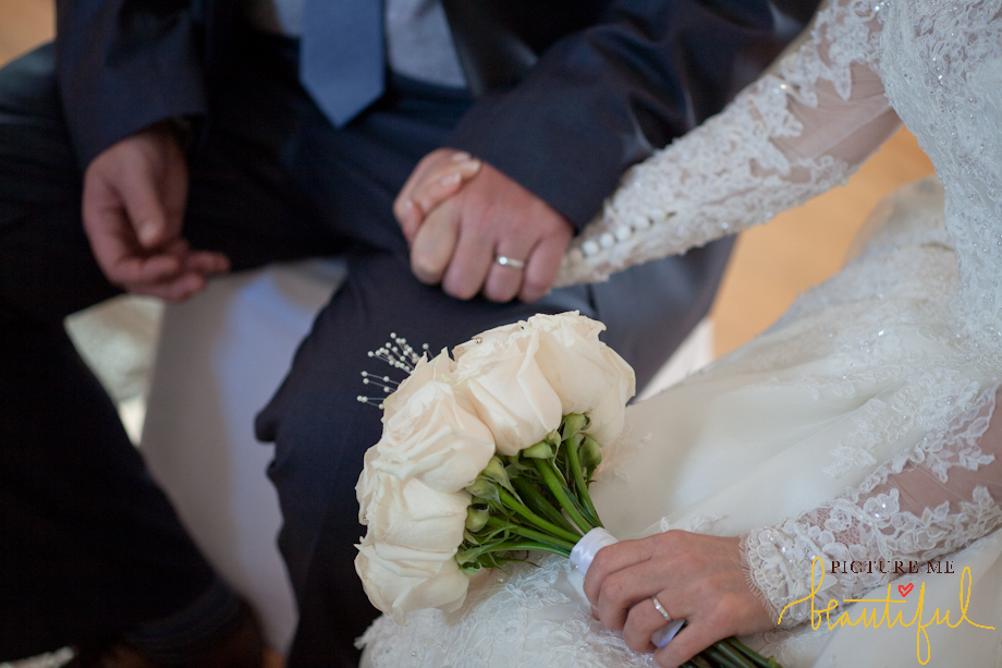 hand in hand by  Picture Me Beautiful Wedding Photography and Film