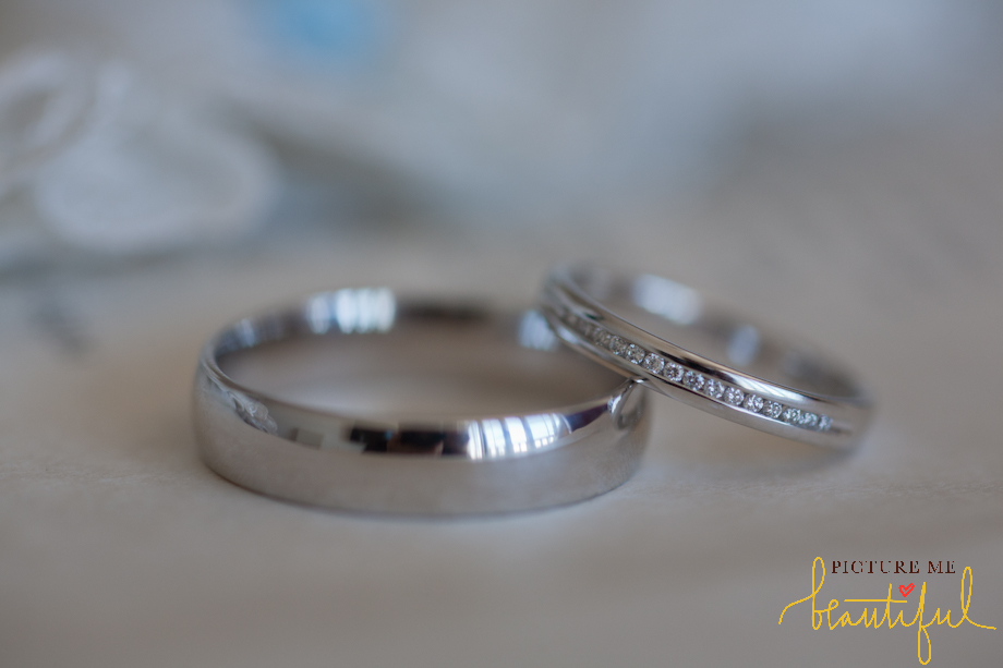 wedding rings by Picture Me Beautiful Wedding Photography and Film