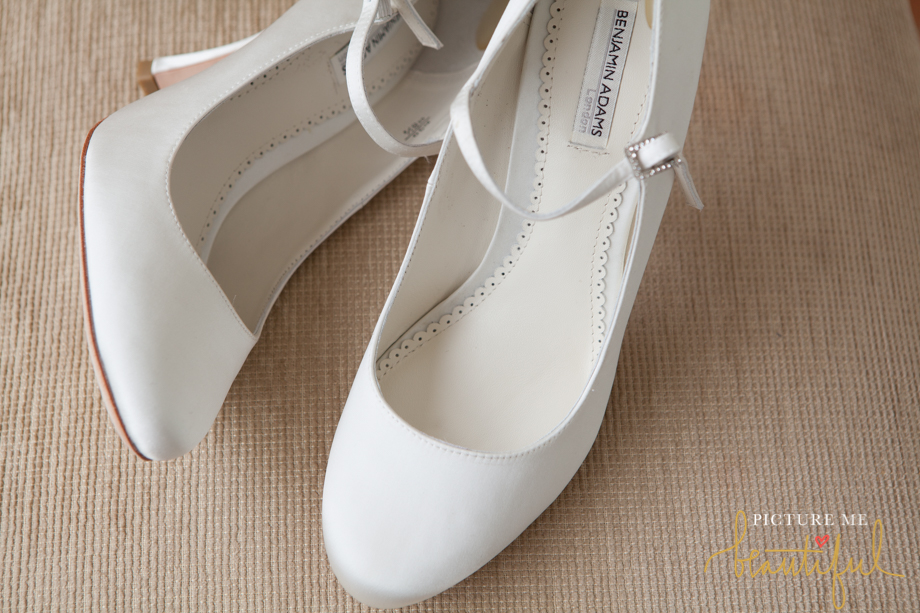 Benjamin Adams Bridal Shoes by Picture Me Beautiful Wedding Photography and Film