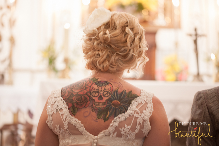 rock n roll bride by Picture Me Beautiful Wedding Photography and Film