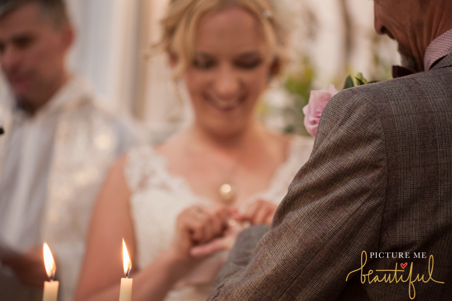 exchanging of the rings by Picture Me Beautiful Wedding Photography and Film