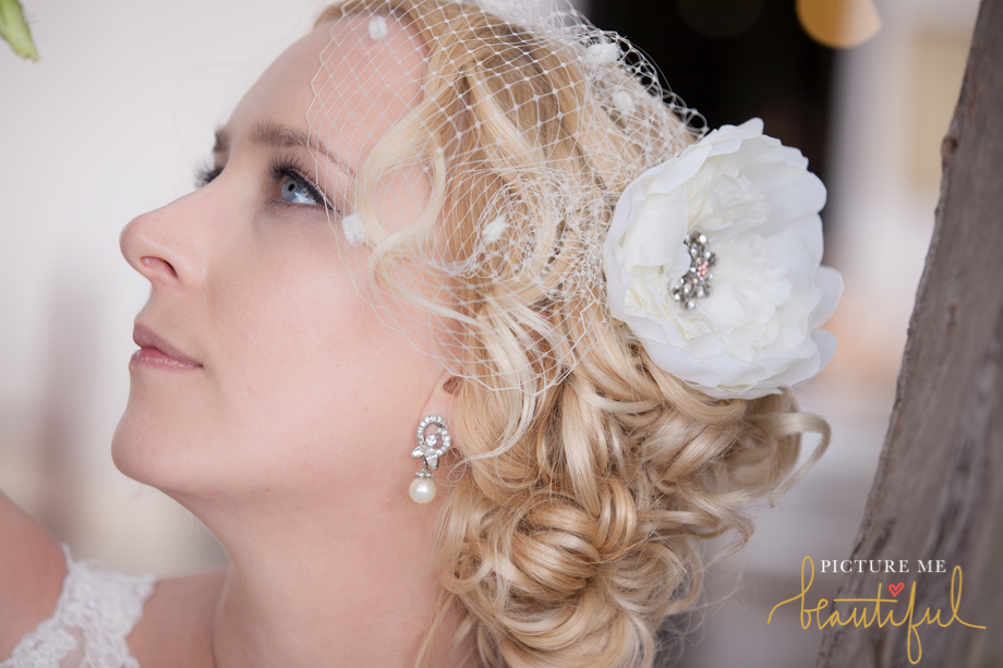 bridal profile by Picture Me Beautiful Wedding Photography and Film