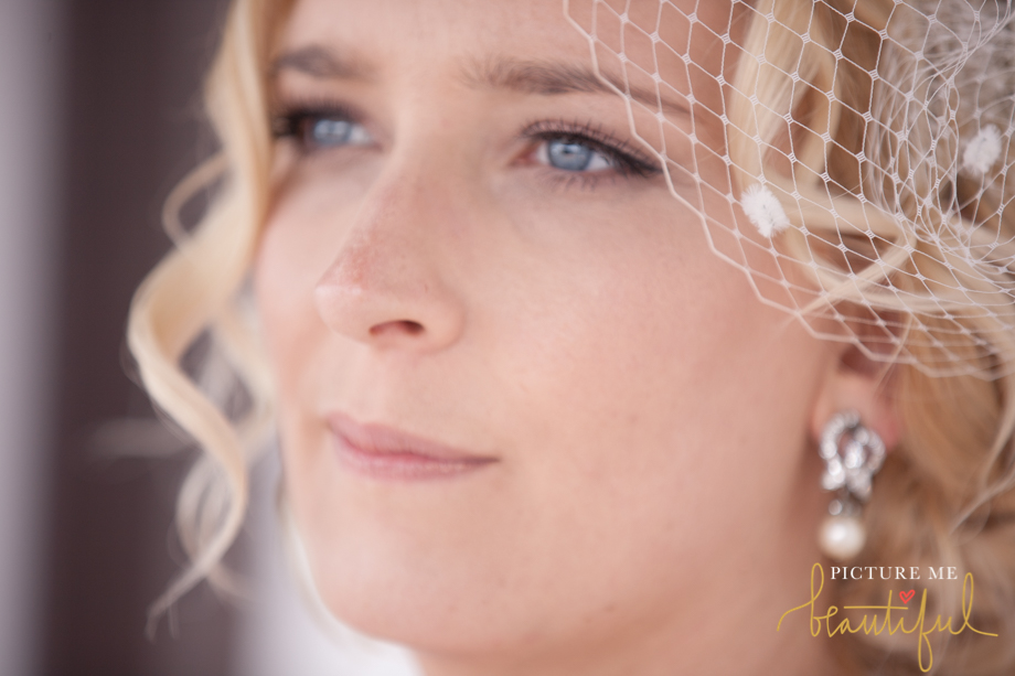 glowing bride by Picture Me Beautiful Wedding Photography and Film